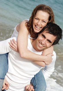 Sexual Help and Addictions. Library Image: Happy Couple